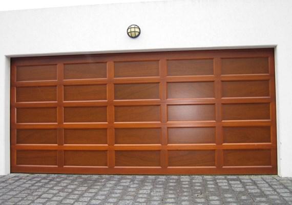 Danmar S Recessed Panel Solid Red Cedar Garage Door Best